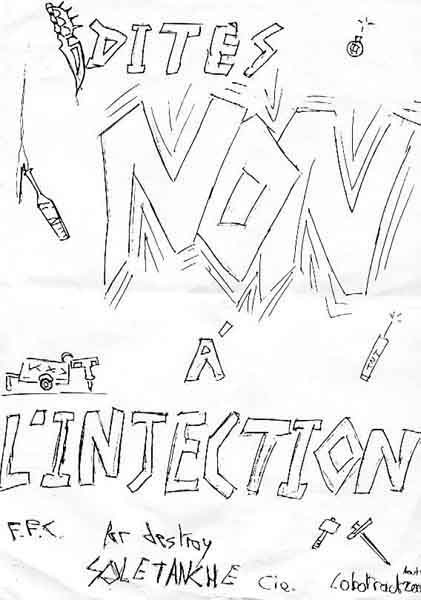 tracts cataphiles cata kta cata bes mus underground Dragon Ball Z Games PS3 tract dites non l injection destroy soletanche